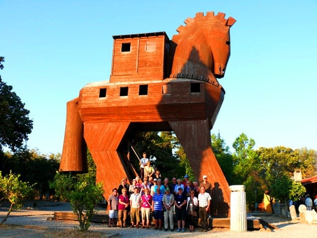 Ancient Troy & The Wooden Horse