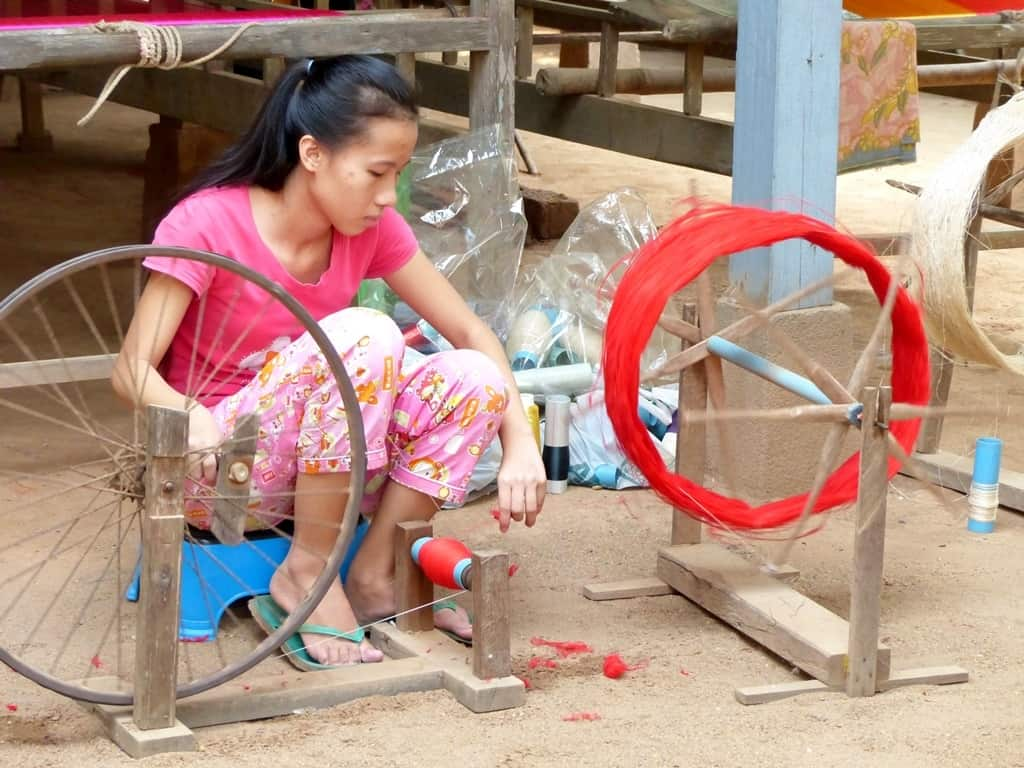 Ox-Carting, Fish-Trapping, Silk Weaving