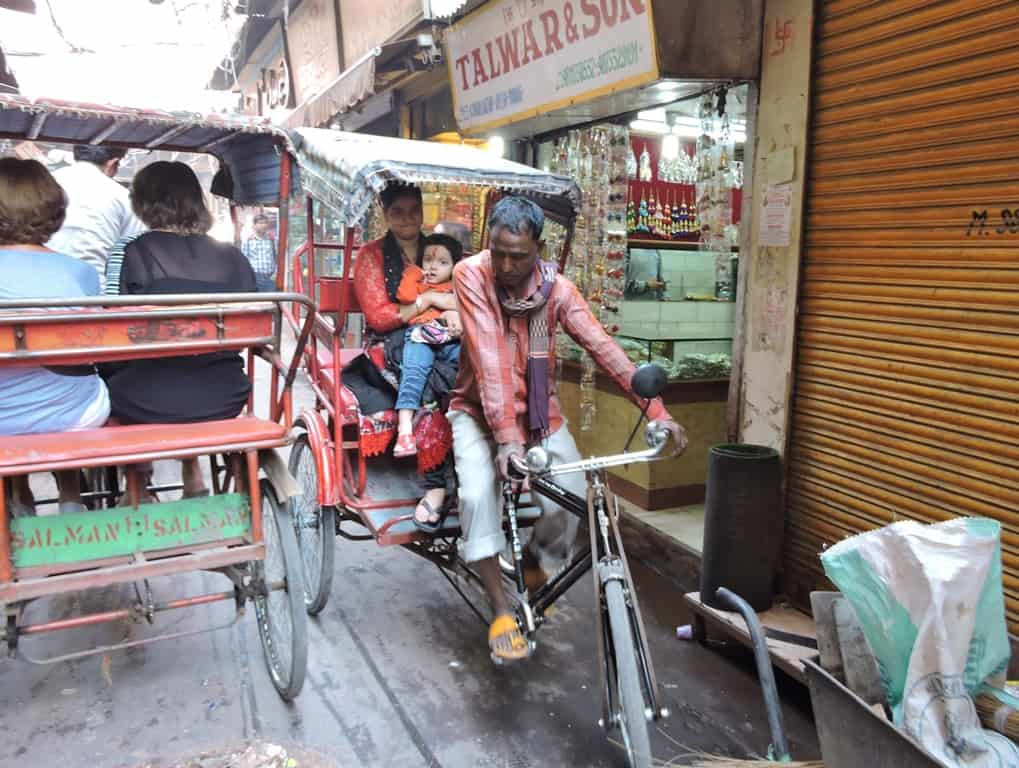 Delhi By Cycle-Rickshaw
